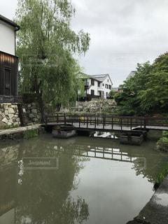 川と橋の写真・画像素材[948696]