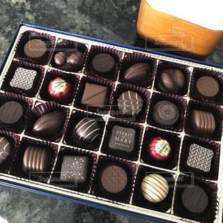 沢山のチョコレートの写真・画像素材[960365]