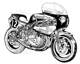 バイクイラスト - No.948661