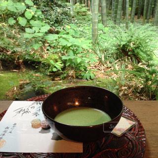 鎌倉でお抹茶の写真・画像素材[949616]