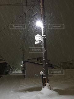 雪の夜道02 - No.949651