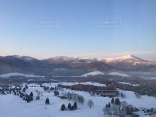 雪山の写真・画像素材[949696]