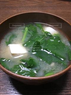 ほうれん草のお味噌汁 - No.949234