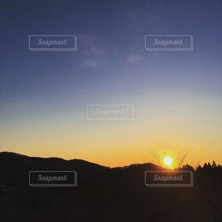 朝焼けの写真・画像素材[1003993]