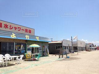 秋田県の海の家の写真・画像素材[2173379]