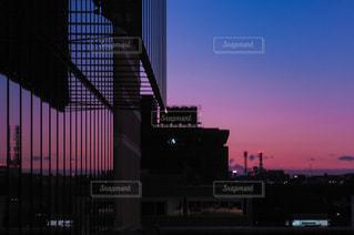 夜の街の景色の写真・画像素材[950265]
