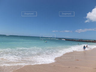 ハワイのビーチの写真・画像素材[950403]