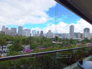 ハワイのトランプタワーからの景色 - No.950431