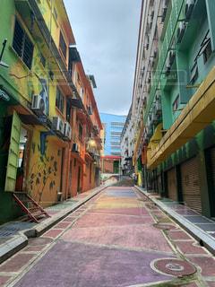 マレーシアのストリートの写真・画像素材[2887059]