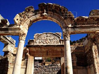 世界遺産 エフェソス遺跡/アルテミス神殿の写真・画像素材[950574]
