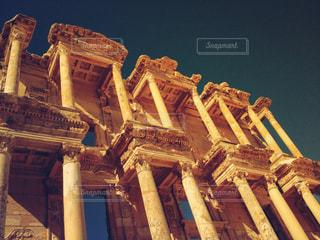 世界遺産 エフェソス遺跡/セルシウス図書館の写真・画像素材[950575]