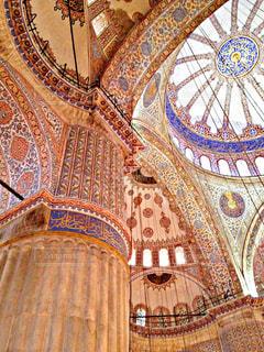 世界遺産 イスタンブール歴史地区/ブルーモスクの写真・画像素材[951251]