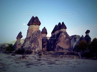 世界遺産 カッパドキア/妖精の煙突の写真・画像素材[951261]