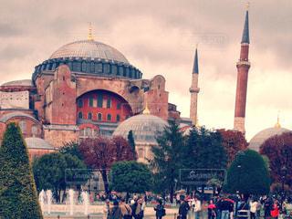 世界遺産 イスタンブール歴史地区/アヤソフィア大聖堂の写真・画像素材[951386]