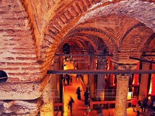 世界遺産 イスタンブール歴史地区/地下宮殿の写真・画像素材[951387]
