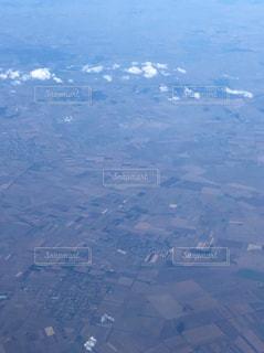 飛行機からの眺めの写真・画像素材[953578]