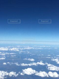 飛行機から大自然の写真・画像素材[953580]