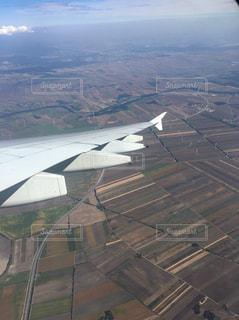 飛行機からの眺めの写真・画像素材[957934]