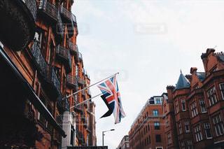 街の通りに信号機の写真・画像素材[951843]