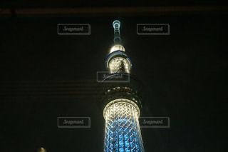 青いライトとボトルの写真・画像素材[952105]