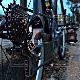 ロードバイクのリア - No.959254