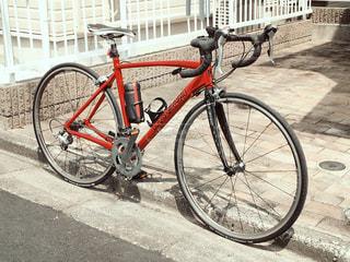 石畳みの自転車 - No.968619