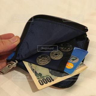 コンパクトな財布の写真・画像素材[969335]