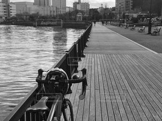 公園のロードバイク - No.979427