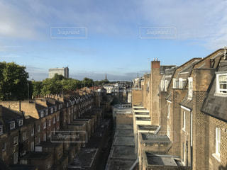 ロンドンの家々の写真・画像素材[952118]