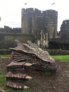 ウェールズのドラゴンの写真・画像素材[957800]