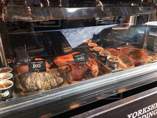イギリス・ヨークのお肉屋さん - No.973958