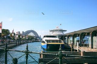 シドニーの船乗り場の写真・画像素材[952198]