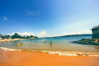 ビーチで夏を満喫の写真・画像素材[952229]