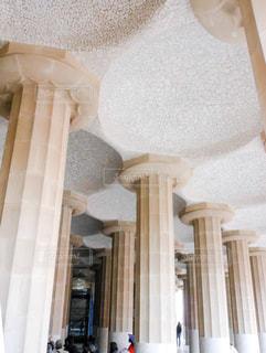 大きな白い建物の写真・画像素材[955493]