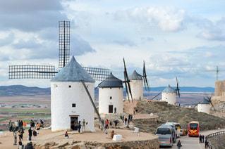 巨大風車の写真・画像素材[955510]