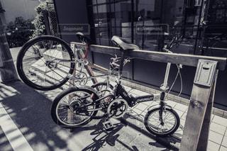 自転車置き場の写真・画像素材[955548]