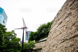 都会の風力発電の写真・画像素材[955569]