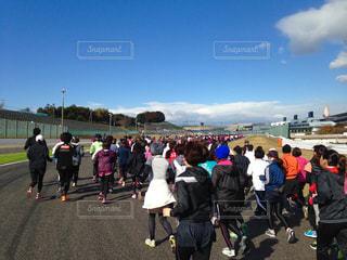 マラソン大会の写真・画像素材[983193]