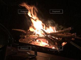 焚き火の写真・画像素材[952267]