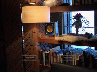 本棚の部屋の写真・画像素材[952272]