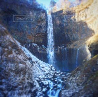 大きな滝の写真・画像素材[955222]