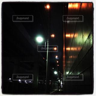 夜道の写真・画像素材[953199]