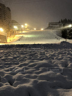 雪がたくさんの写真・画像素材[953595]