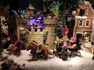 クリスマスディスプレイの写真・画像素材[3484885]