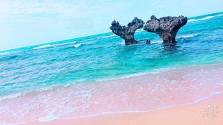 ハート岩の写真・画像素材[954088]