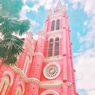 ピンクの教会 - No.954223