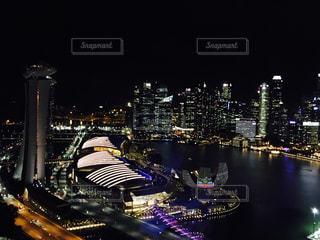 Singapore's City Lightの写真・画像素材[954659]