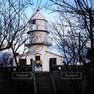 夕暮れの灯台の写真・画像素材[954716]