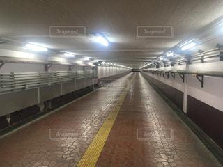 尾久駅のタイムカプセル平成ロードの写真・画像素材[1238942]