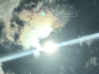 空には雲のぼやけた画像の写真・画像素材[955022]